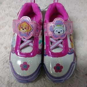 Paw patrol girls light up shoes